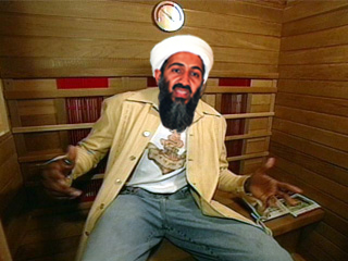 "During the fake episode filmed by Navy SEALs, Osama bin Laden showed off his indoor sauna, one of only two in the entire country of Pakistan. ""Most of the country [i]is[/i] a sauna,"" noted the future fish food, ""but in mine you're not surrounded by those smelly, poor people. Am I right? Fist bump!"""
