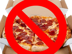 Citing the dangers of accessible pizza to the citizens of Steamboat Springs, City Council enacted a permanent ban on pizza dispensaries. However, individuals with a legal license to consume pizza can still bake the circular food in their own homes.