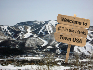 For a small fee, anyone can now temporarily name Steamboat Springs' slogan. Locals are especially excited about this weekend's motto, Mosquito Town, U.S.A., sponsored by GETOFF bug spray.