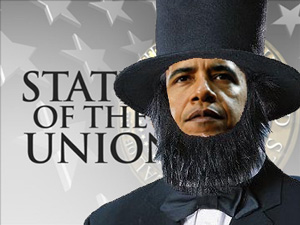 "A Senator from Alabama conjures this image of President Barack Obama delivering a ""State of the Union"" address that ignores the ""State of the Confederacy."""