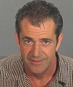 Mel Gibson, a perennial runner up, ran away with this year's award for Craziest Actor Alive. Police are still looking for him.