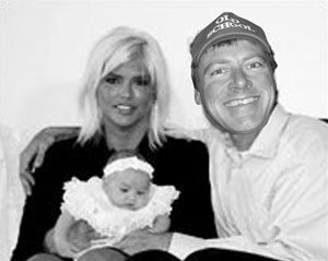 Rock burnout Rocky Balearo was found to be the father of Anna Nicole Smith's newest child.
