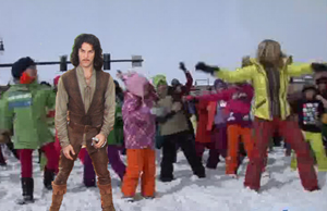 "A member of the International Flash Mob Standards Organization, Inigo Montoya, expressed his doubt that the Winter Carnival Flash Mob was indeed a genuine flash mob. ""You keep using that word,"" he said. ""I do not think it means what you think it means."""