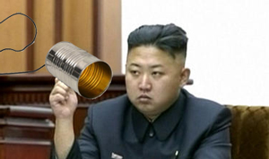 "North Korea's Supreme Leader, Kim Jong-un, refuses to answer the tin-can phone he once shared with his southern neighbor, Ri Yong-ho, citing his former friend's jealousy of his ""god-ness"" as the deteriorating factor."