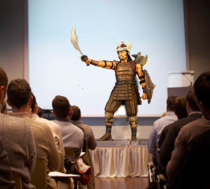 "The Serfdom Conference announced that its upcoming keynote speaker will be Attila the Hun, who will be promoting his upcoming posthumous memoir, ""Europeans Are a Bunch of Pussies whom I Whizzed on as I Slaughtered them by the Thousands."""